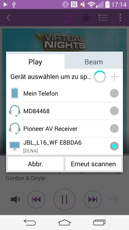 JBL Authentics L16_neu Android_DLNA