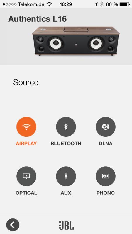 JBL Authentics L16_neu App Source