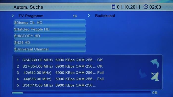 Mirage CX73 Screenshot 2