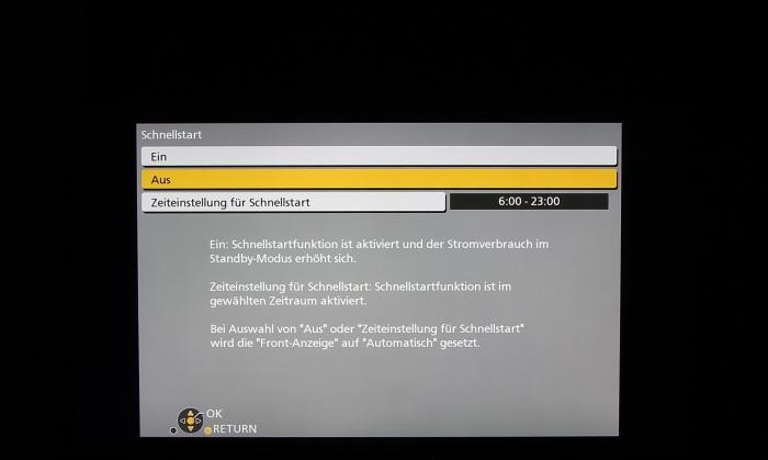 Panasonic DMR-BST845 Screenshot 7