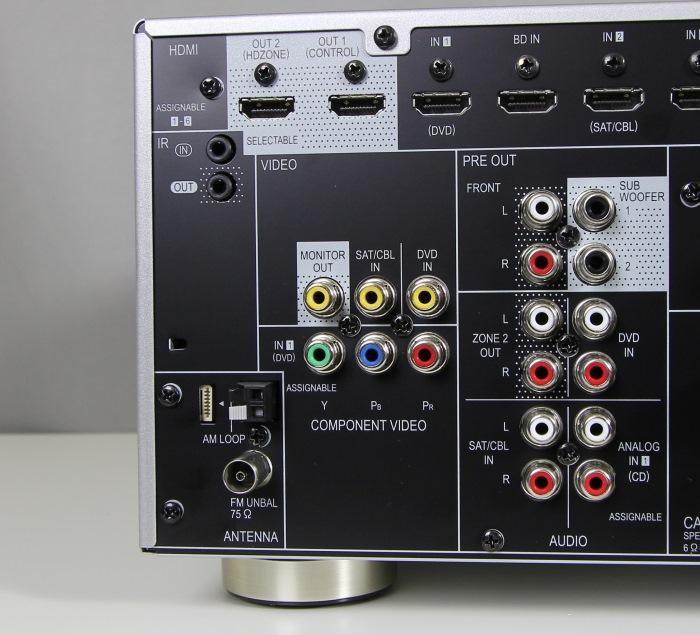 Pioneer VSX-924 Anschluesse Rueckseite2
