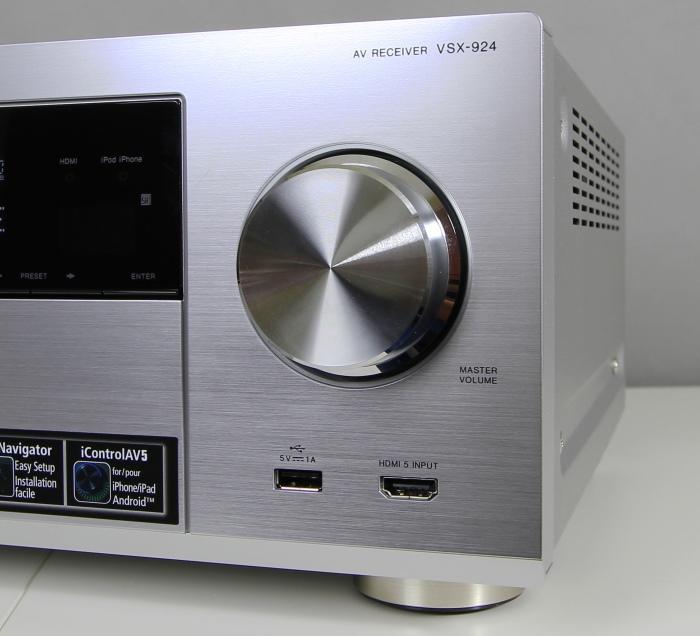 Pioneer VSX-924 Bedienelemente Front1