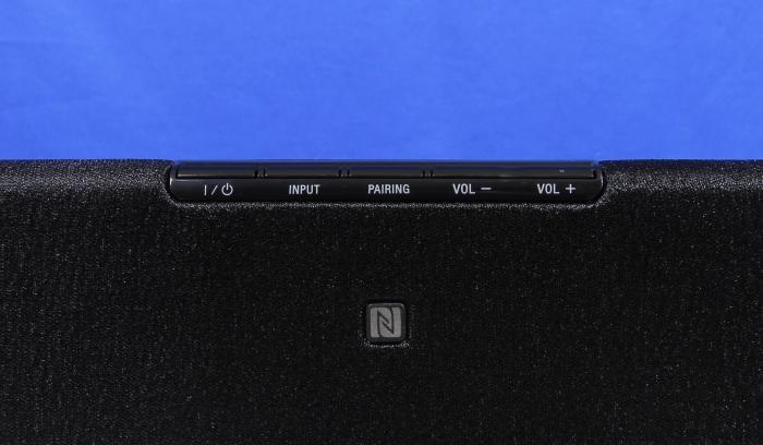Sony HT-CT770 Soundbar Bedienelemente