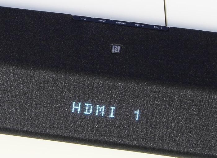 Sony HT-CT770 Soundbar Display
