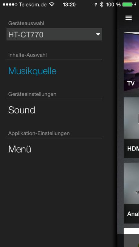 Sony HT-CT770_App_Geraeteauswahl
