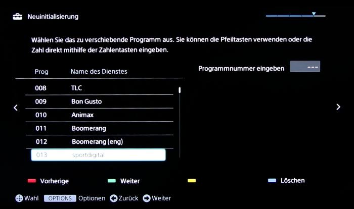 Sony KD55X8505 Screenshot 10