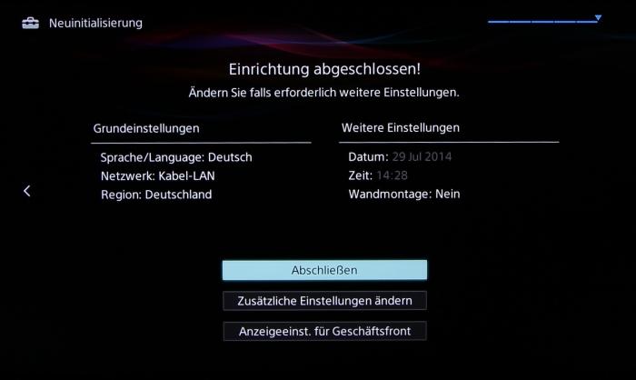 Sony KD55X8505 Screenshot 11