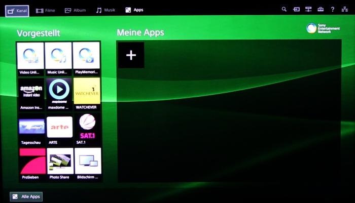 Sony KD55X8505 Screenshot 17