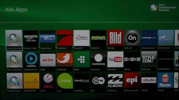 Sony KD55X8505 Screenshot 18