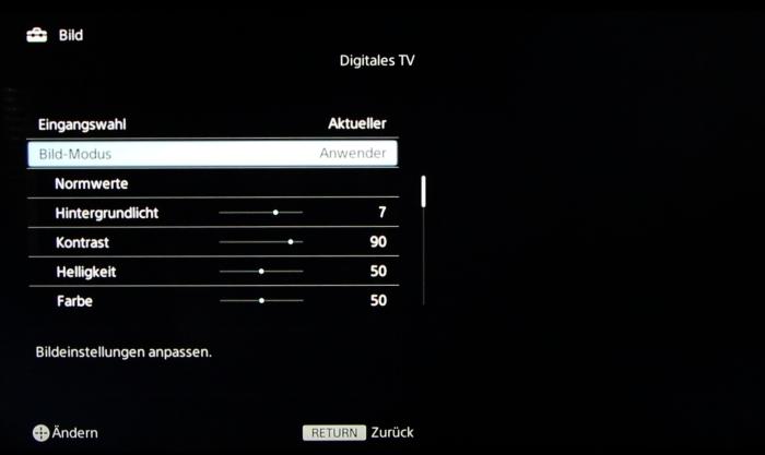 Sony KD55X8505 Screenshot 20