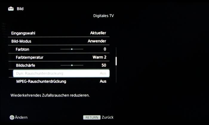 Sony KD55X8505 Screenshot 21