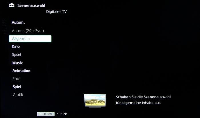Sony KD55X8505 Screenshot 25