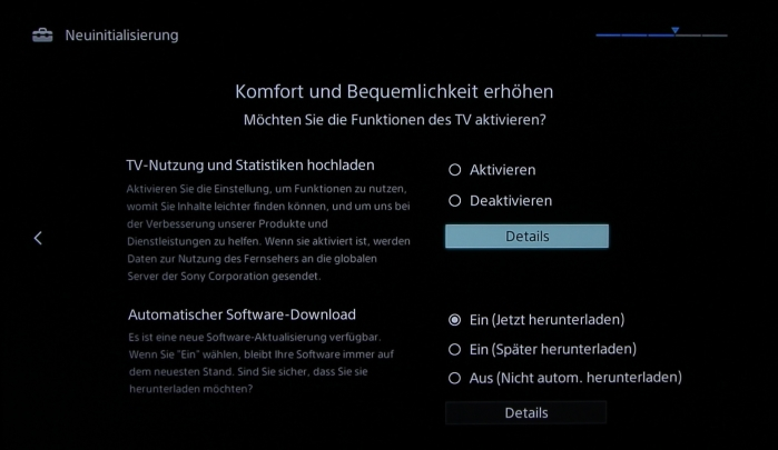 Sony KD55X8505 Screenshot 3