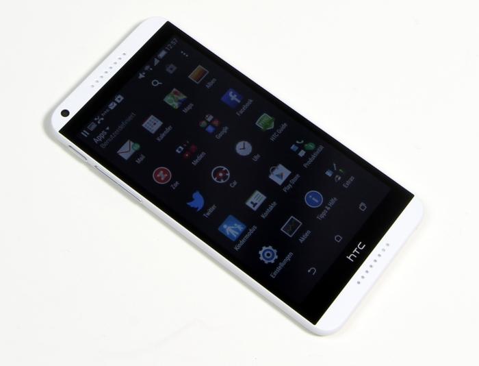 HTC Desire 816 Front Seitlich4