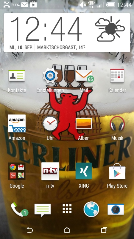 HTC Desire 816 Screenshot 1
