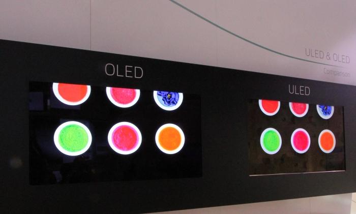 Hisense Vergleich OLED ULED
