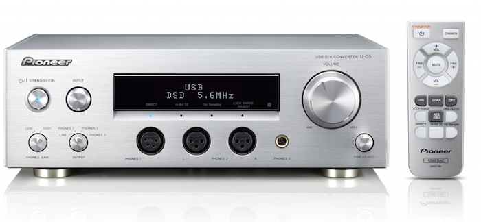 Pioneer U-05 front with remote