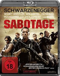 Sabotage Blu-ray Disc