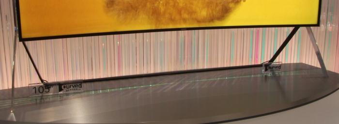 Samsung Bendable UHD TV Standfuss