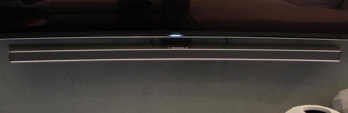 Samsung Curved Soundbar Front