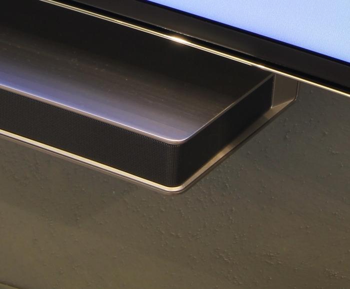 Samsung Curved Soundbar Verarbeitung