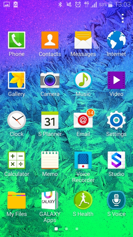 Samsung Galaxy Alpha Screenshot3