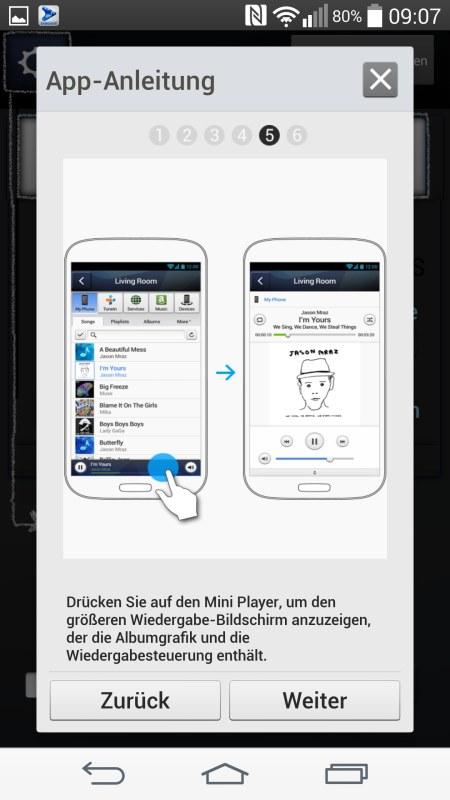 Samsung Multiroom Android Screenshots App Anleitung 5