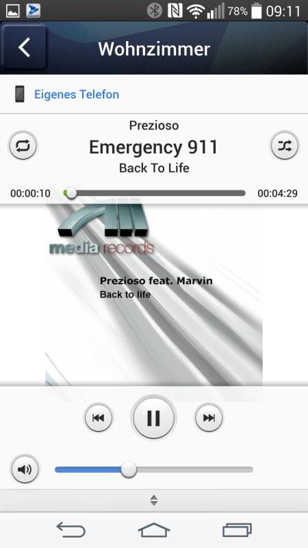Samsung Multiroom Android Screenshots Music Handy 2
