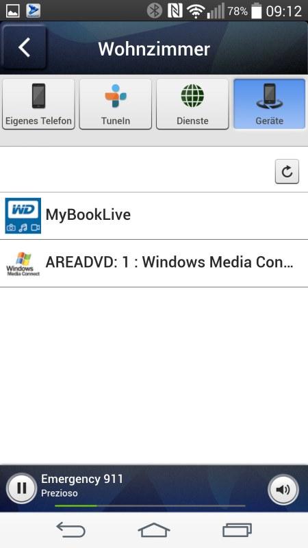 Samsung Multiroom Android Screenshots Music Server 1