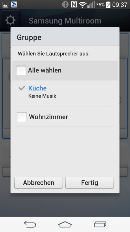 Samsung Multiroom Android Screenshots Setup 12