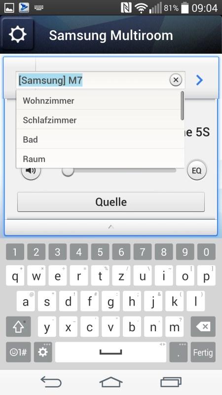 Samsung Multiroom Android Screenshots Setup 5
