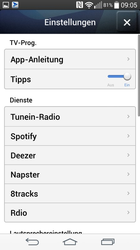 Samsung Multiroom Android Screenshots Setup 7