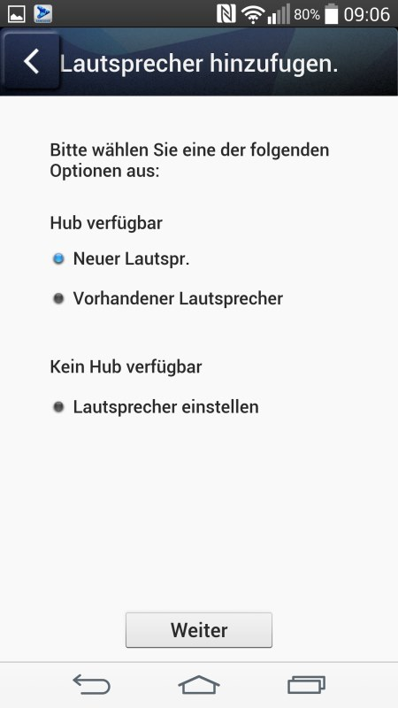 Samsung Multiroom Android Screenshots Setup 8