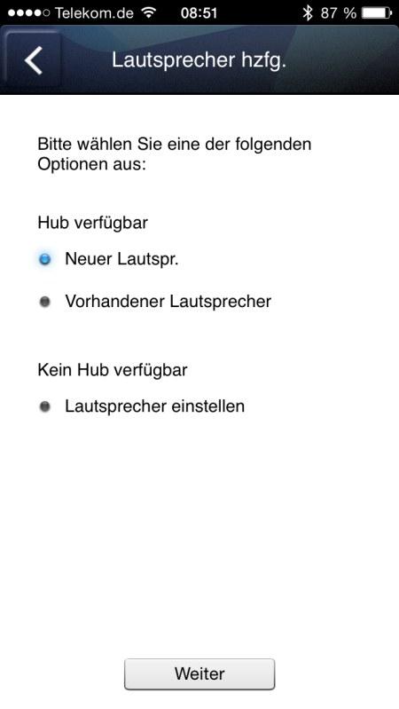 Samsung Multiroom iOS Screenshots 3