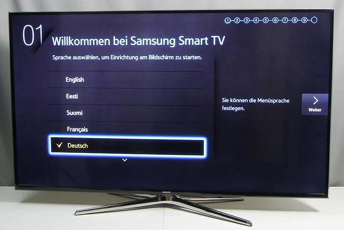 Samsung UE55H6470 Front Seitlich2