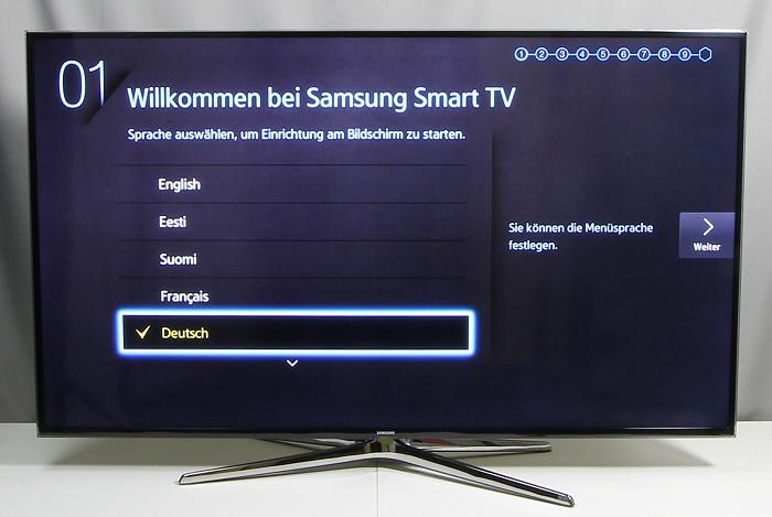 Samsung UE55H6470 Front Seitlich3