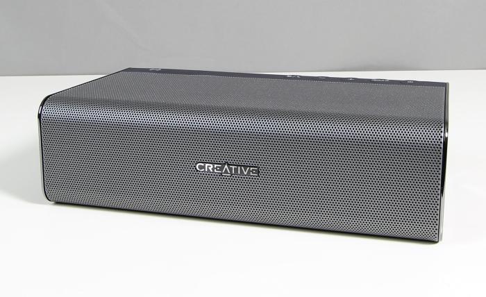 Creative Soundblaster ROAR Front Seitlich1