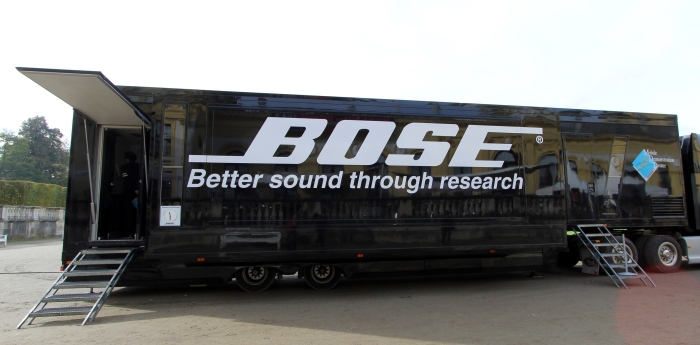 Home Cinema Trends 2014 Bose Truck
