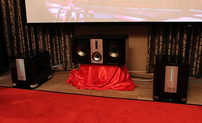 Home Cinema Trends 2014 Quadral Orkus Titan Base
