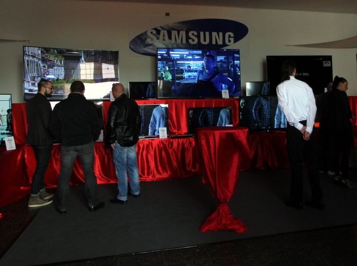 Home Cinema Trends 2014 Samsung Impressionen