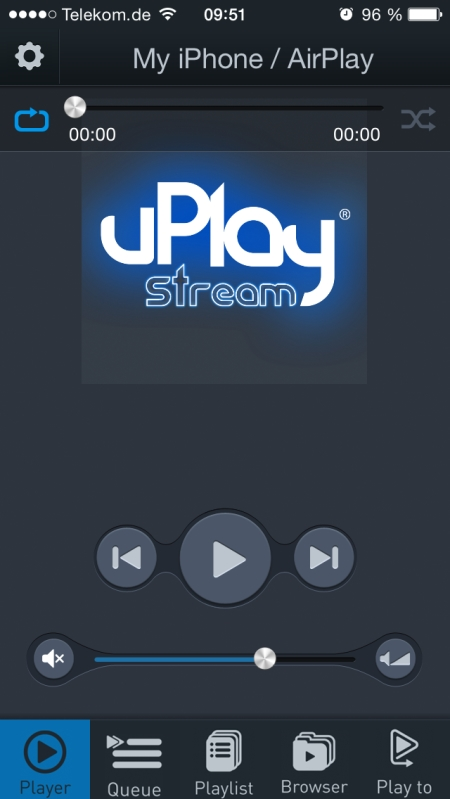 QED uPlay Stream Screenshot 1