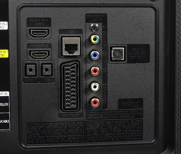 Samsung UE48H6890 Anschluesse Rueckseite2