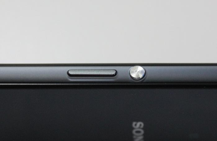 Sony Xperia Z3 Compact Bedienelemente Seitlich1