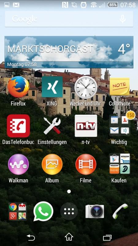 Sony Xperia Z3 Compact Screenshot 1