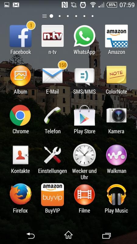 Sony Xperia Z3 Compact Screenshot 2