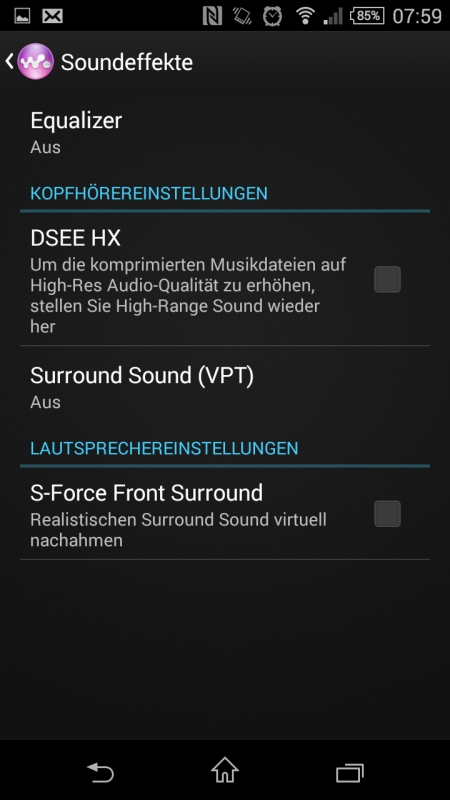 Sony Xperia Z3 Compact Screenshot 7