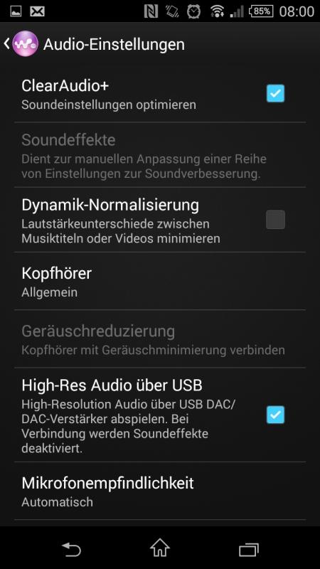 Sony Xperia Z3 Compact Screenshot 9
