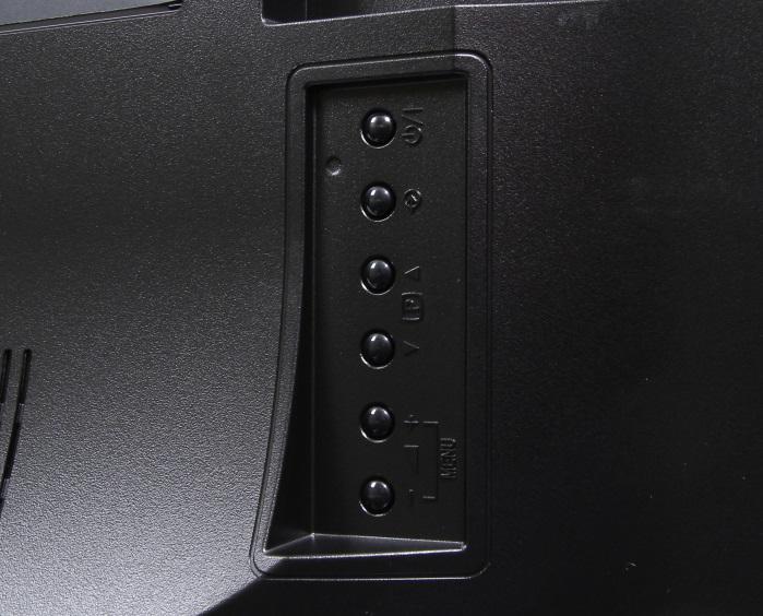 Toshiba 48L5441DG Bedienelemente Rueckseite