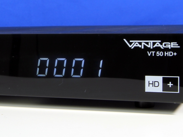 Vantage VT 50 HD+ Display