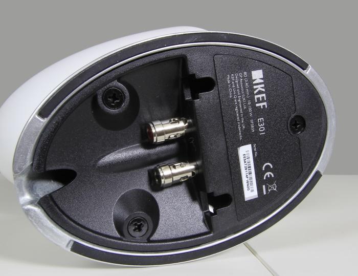 KEF E305 Speaker Standfuss Unterseite